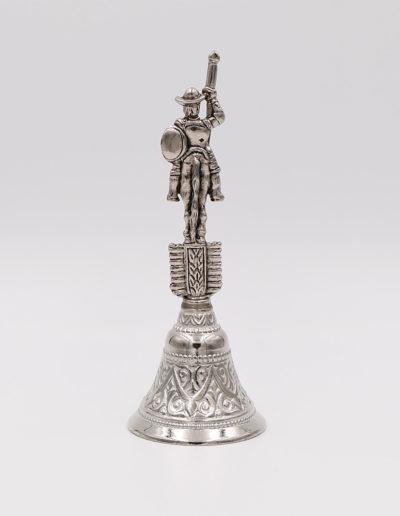 """Campana Quijote (30009) - 11,53cm x 4,40cm - 53gr <a href=""""https://vanrellsl.com/contacto/"""">Personalizar</a>"""